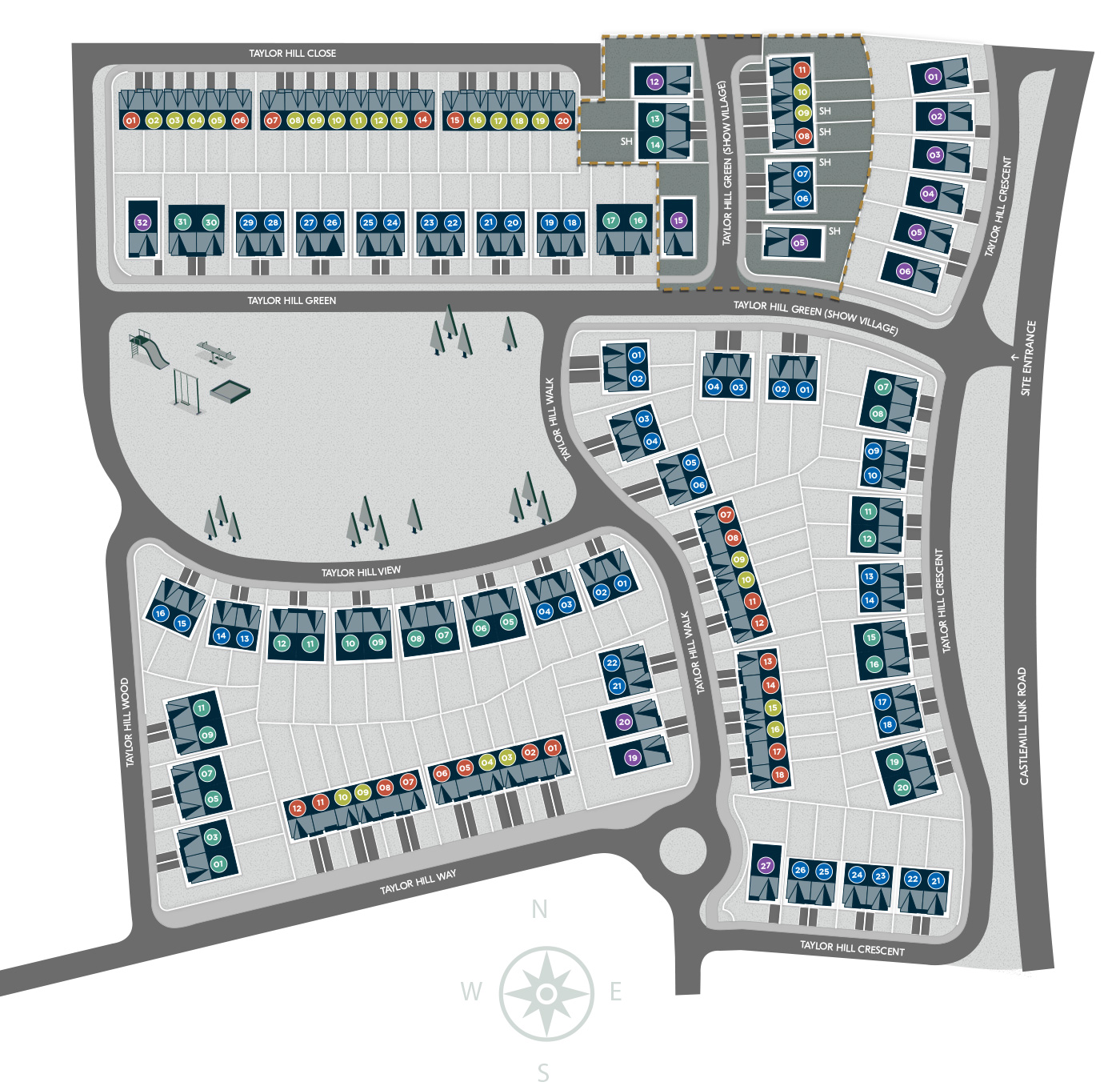 Taylor Hill Site Plan